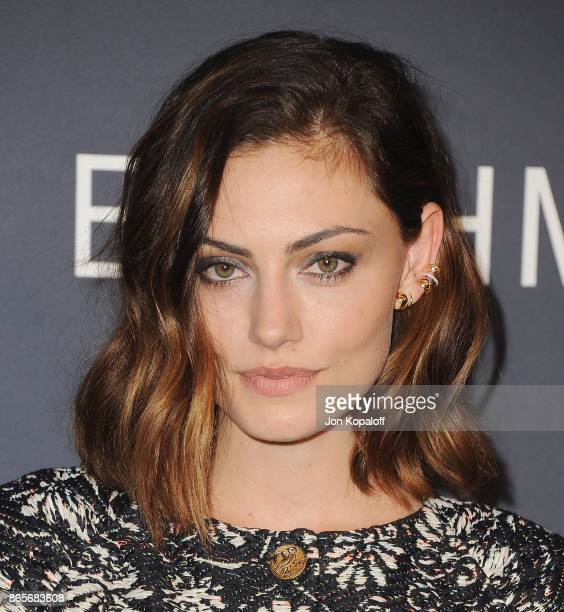Actress Phoebe Tonkin arrives at the 3rd Annual InStyle Awards at The Getty Center on October 23 2017 in Los Angeles California