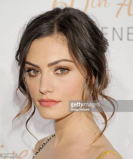 Actress Phoebe Tonkin arrives at The Humane Society Of The United States 60th anniversary benefit gala at The Beverly Hilton Hotel on March 29 2014...