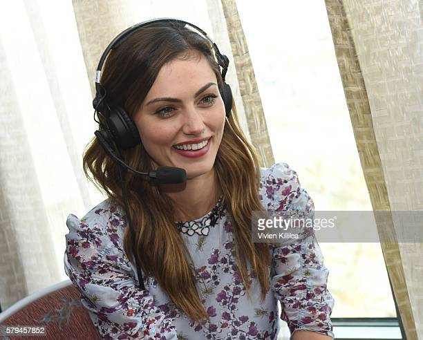 Actress Phoebe Tonkin attends SiriusXM's Entertainment Weekly Radio Channel Broadcasts From ComicCon 2016 at Hard Rock Hotel San Diego on July 23...