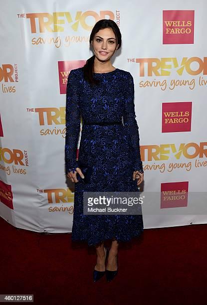 Actress Phoebe Tonkin attends TrevorLIVE LA Honoring Robert Greenblatt Yahoo and Skylar Kergil for The Trevor Project at Hollywood Palladium on...