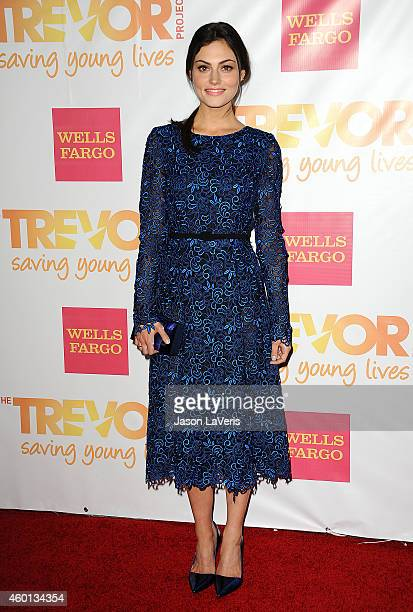 Actress Phoebe Tonkin attends TrevorLIVE Los Angeles at the Hollywood Palladium on December 7 2014 in Los Angeles California