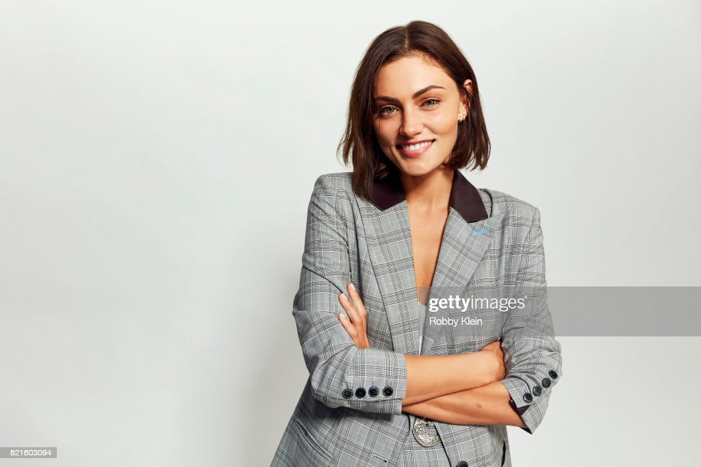 Actress Phoebe Tonkin from CW's 'The Originals' poses for a portrait during Comic-Con 2017 at Hard Rock Hotel San Diego on July 22, 2017 in San Diego, California