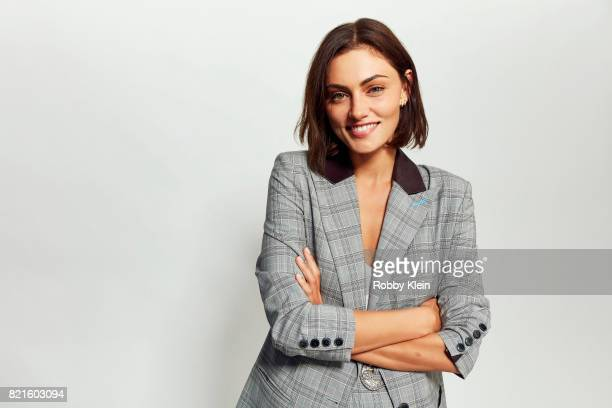 Actress Phoebe Tonkin from CW's 'The Originals' poses for a portrait during ComicCon 2017 at Hard Rock Hotel San Diego on July 22 2017 in San Diego...