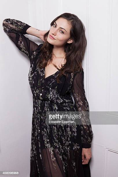 Actress Phoebe Tonkin is photographed for The Daily Telegraph Australia on September 9 2014 in New York City PUBLISHED IMAGE