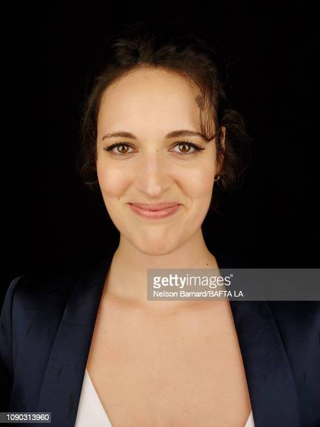 Actress Phoebe WallerBridge attends the portrait studio at Four Seasons Hotel Los Angeles at Beverly Hills on January 05 2019 in Los Angeles...