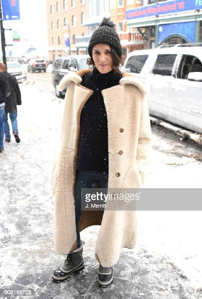 Actress Phoebe WallerBridge is seen around town on January 20 2018 in Park City Utah