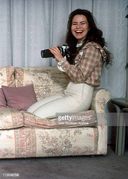 Actress photographer and one time girl friend of Prince Andrew Koo Stark London February 1984