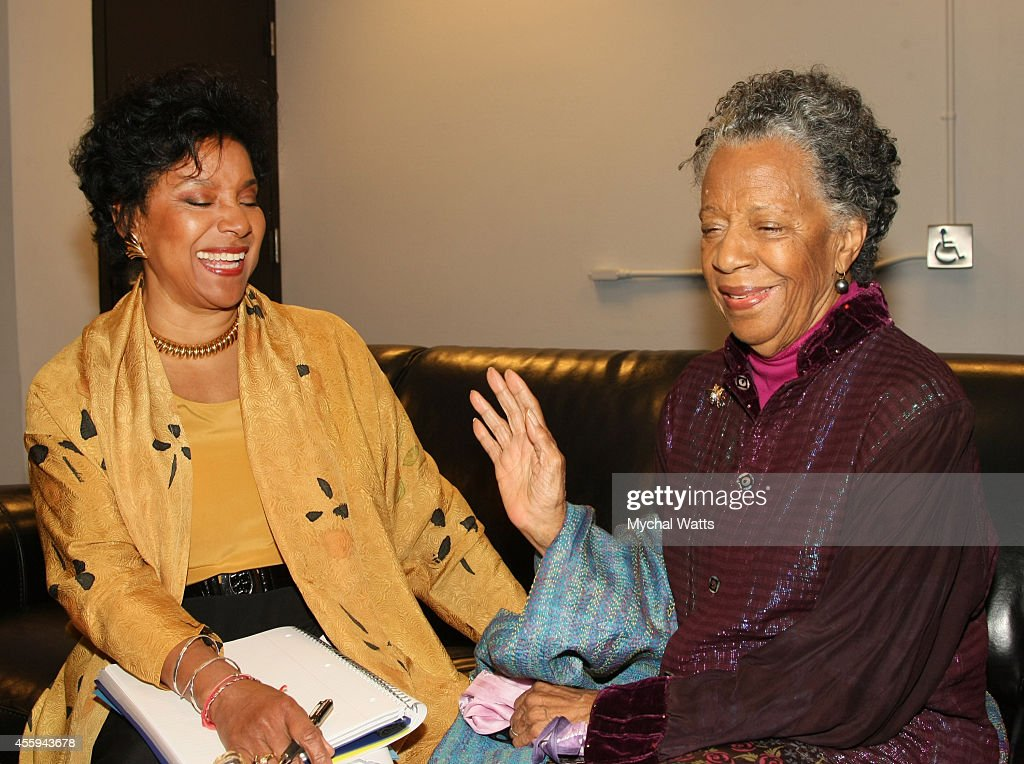 Actress Phylicia Rashad and Actress/Dancer Billie Allen at The League Of Profesional Theatre Women Presents: Billie Allen And Phylicia Rashad at The New York Public Library for Performing Arts on September 22, 2014 in New York City.