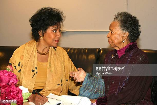Actress Phylicia Rashad and Actress/Dancer Billie Allen at The League Of Profesional Theatre Women Presents Billie Allen And Phylicia Rashad at The...