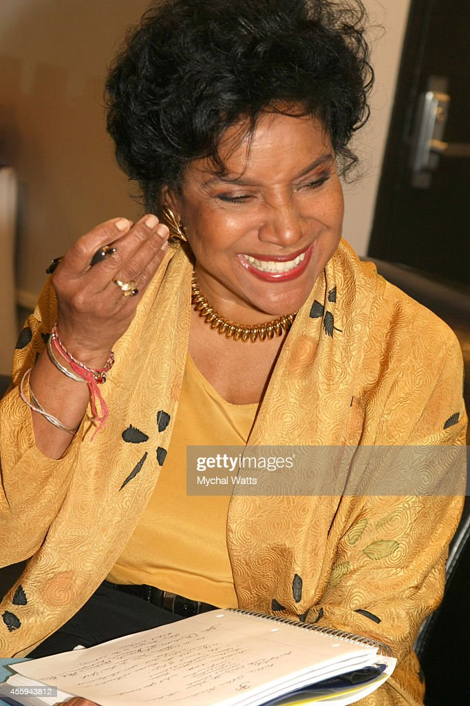 Actress Phylicia Rashad at The League Of Profesional Theatre Women Presents: Billie Allen And Phylicia Rashad at The New York Public Library for Performing Arts on September 22, 2014 in New York City.