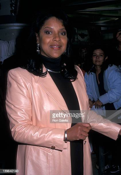 Actress Phylicia Rashad attending Bill Cosby Inducted Into Walk Of Fame on May 3 2002 at NBC Experience Store in New York City New York
