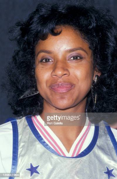 """Actress Phylicia Rashad attending """"Franciscan Games"""" on September 26, 1987 at Madison Square Garden in New York City, New York."""
