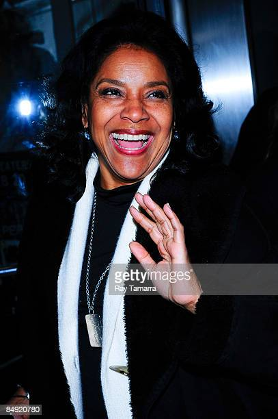 Actress Phylicia Rashad attends a screening of Tyler Perry's Madea Goes to Jail at the AMC Loews Lincoln Center on February 18 2009 in New York City