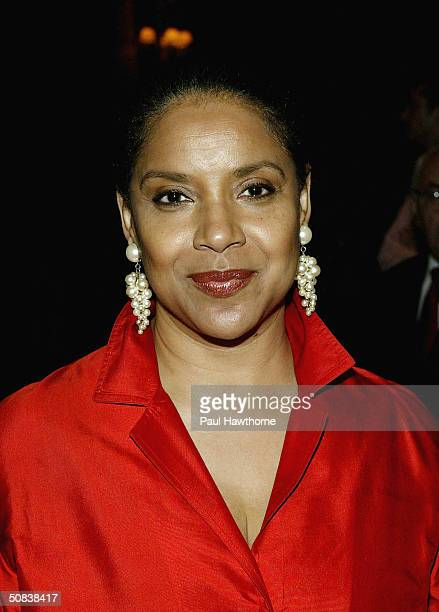 Actress Phylicia Rashad attends the 2004 Drama League Awards luncheon and ceremony at the Grand Hyatt on May 14 2004 in New York City