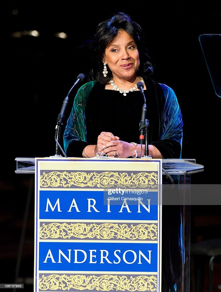 Actress Phylicia Rashad attends the 2012 Marian Anderson awards gala at Kimmel Center for the Performing Arts on November 19, 2012 in Philadelphia, Pennsylvania.