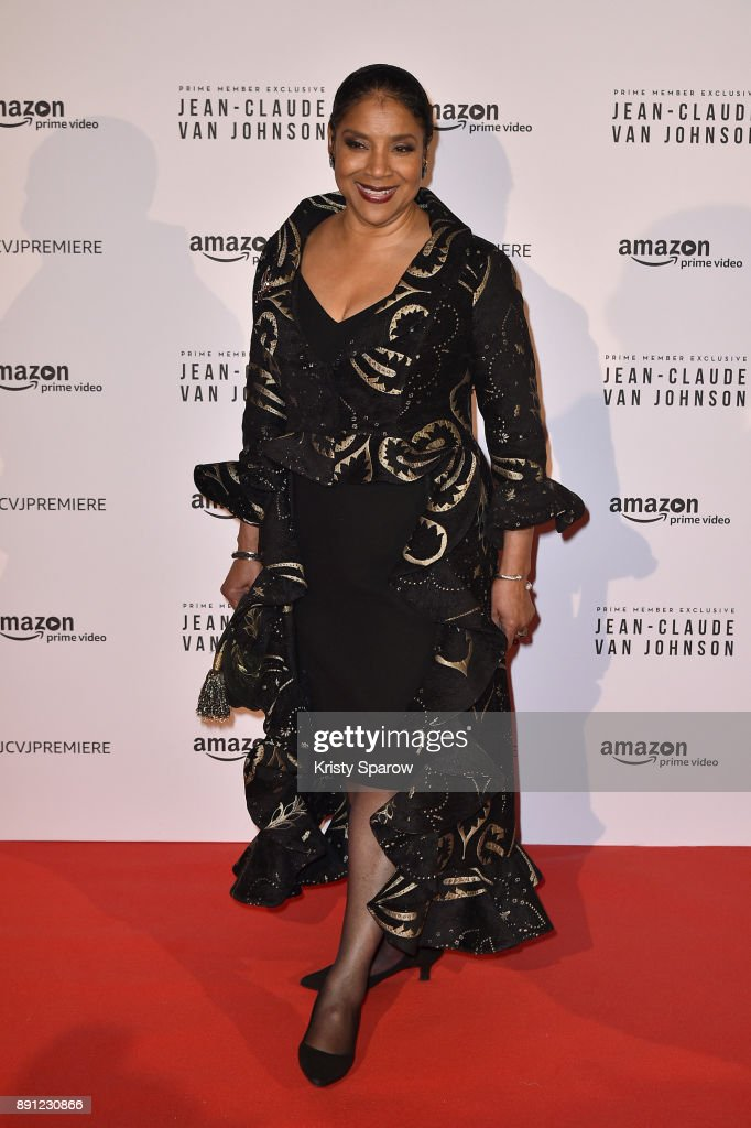 Actress Phylicia Rashad attends the Amazon TV series 'Jean Claude Van Johnson' Premiere at Le Grand Rex on December 12, 2017 in Paris, France. at Le Grand Rex on December 12, 2017 in Paris, France.