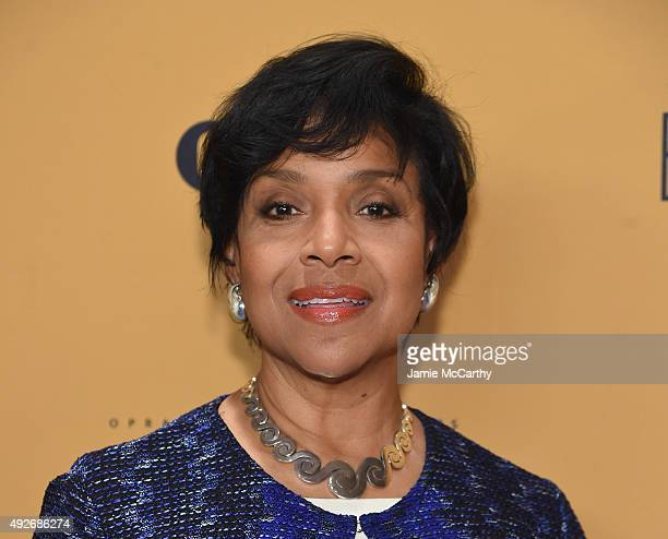 """Actress Phylicia Rashad attends the """"Belief"""" New York premiere at TheTimesCenter on October 14, 2015 in New York City."""