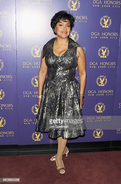 Actress Phylicia Rashad attends the DGA Honors Gala 2015 at the DGA Theater on October 15 2015 in New York City