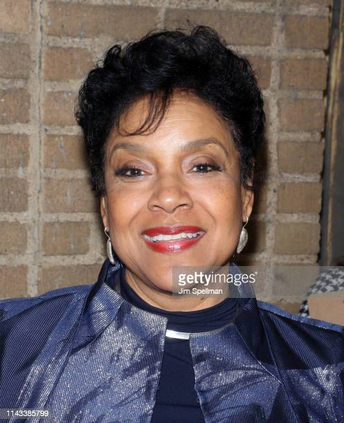 """Actress Phylicia Rashad attends the """"Hadestown"""" opening night at Walter Kerr Theatre on April 17, 2019 in New York City."""