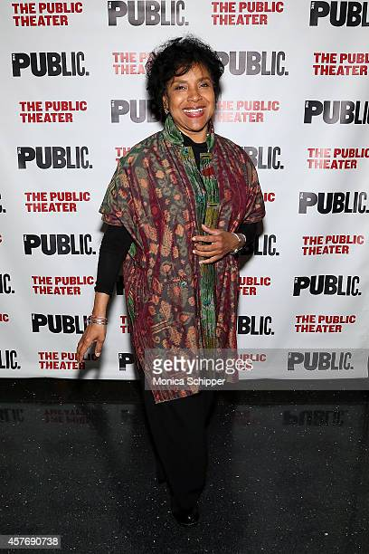 Actress Phylicia Rashad attends The Public Theater's Opening Night Celebration Of The Fortress Of Solitude Opening Night at The Public Theater on...