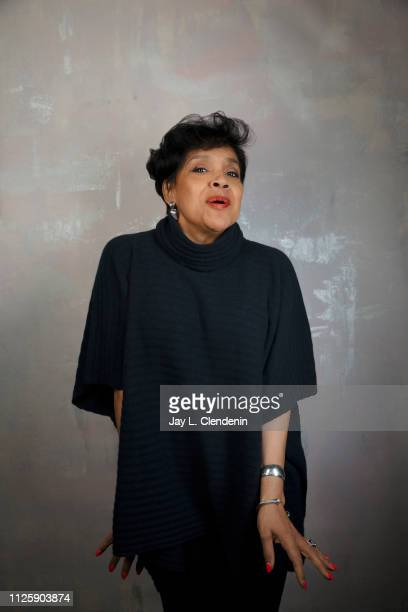 Actress Phylicia Rashad, from 'David Makes Man' is photographed for Los Angeles Times on January 25, 2019 at the 2019 Sundance Film Festival, in Salt...