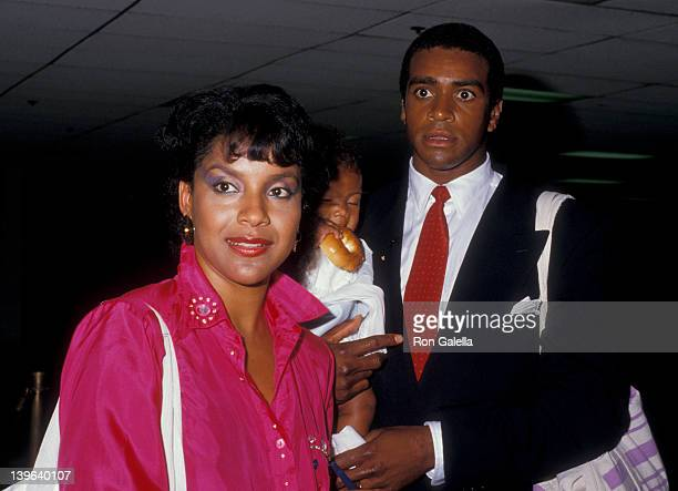 Actress Phylicia Rashad husband Ahmad Rashad and daughter Condola Rashad attending 'NBC Affiliates Party' on June 2 1987 at the Century Plaza Hotel...