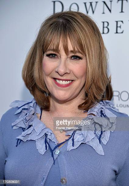 Actress Phyllis Logan attends an evening with 'Downton Abbey' at Leonard H Goldenson Theatre on June 10 2013 in North Hollywood California