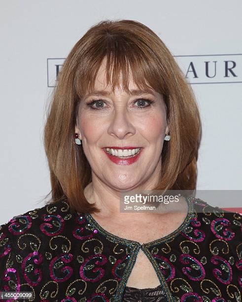 Actress Phyllis Logan attends 'Downton Abbey' Season Four cast photo call at Millenium Hotel on December 10 2013 in New York City