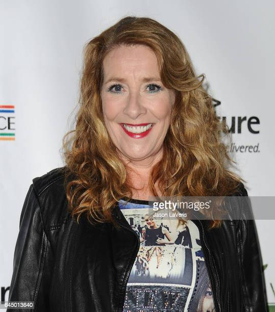 Actress Phyllis Logan attends the 12th annual Oscar Wilde Awards at Bad Robot on February 23 2017 in Santa Monica California