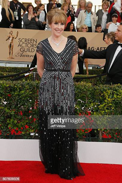 Actress Phyllis Logan attends the 22nd Annual Screen Actors Guild Awards at The Shrine Auditorium on January 30 2016 in Los Angeles California