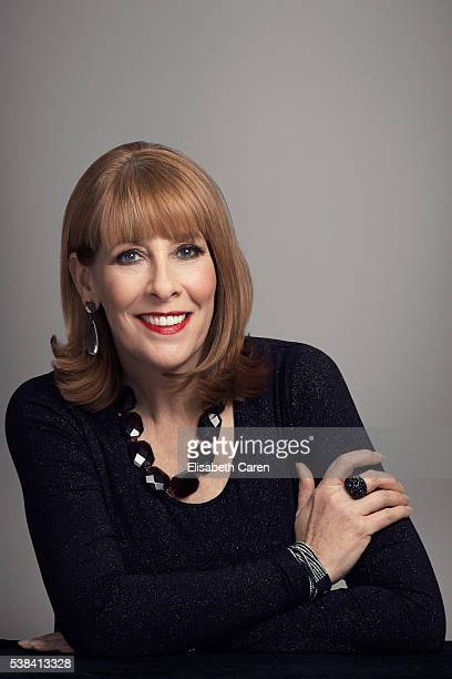 Actress Phyllis Logan is photographed for Emmy Magazine on December 15 2015 in Los Angeles California Photo by Elisabeth Caren/Contour by Getty Images