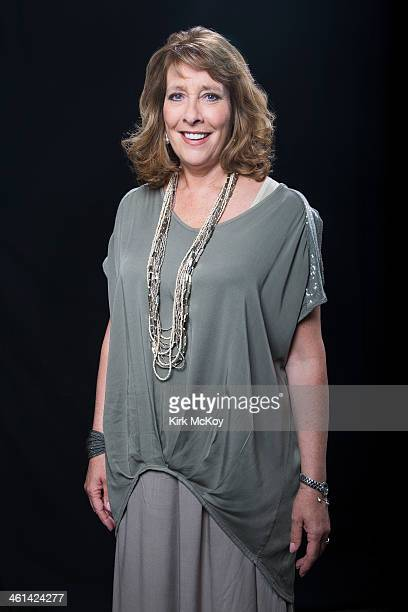 Actress Phyllis Logan is photographed for Los Angeles Times on August 6 2013 in Beverly Hills California PUBLISHED IMAGE CREDIT MUST BE Kirk...