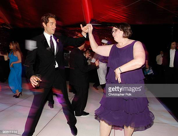 Actress Phyllis Smith and guest attend the NBC Universal and Focus Features' Golden Globes after party sponsored by Cartier at Beverly Hilton Hotel...