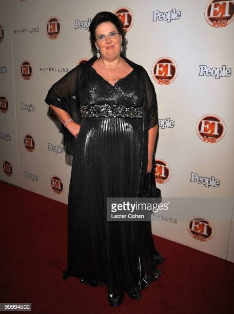 Actress Phyllis Smith arrives at the 13th Annual Entertainment Tonight and People Magazine Emmys After Party at the Vibiana on September 20, 2009 in...