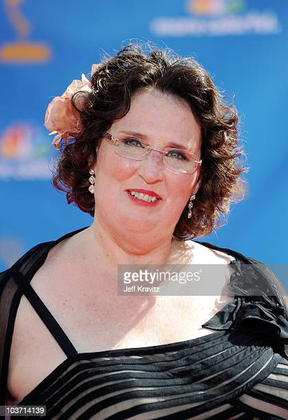 Actress Phyllis Smith arrives at the 62nd Annual Primetime Emmy Awards held at the Nokia Theatre L.A. Live on August 29, 2010 in Los Angeles,...