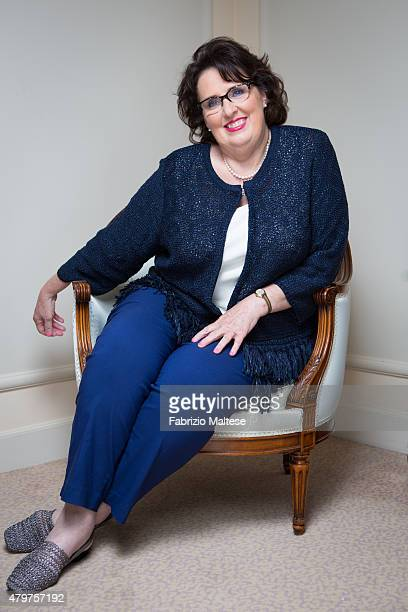 Actress Phyllis Smith is photographed for The Hollywood Reporter on May 15, 2015 in Cannes, France.