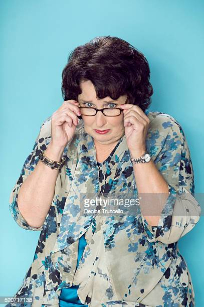 Actress Phyllis Smith poses for a portrait at the 2013 D23 Expo on August 6 2013 in Las Vegas Nevada