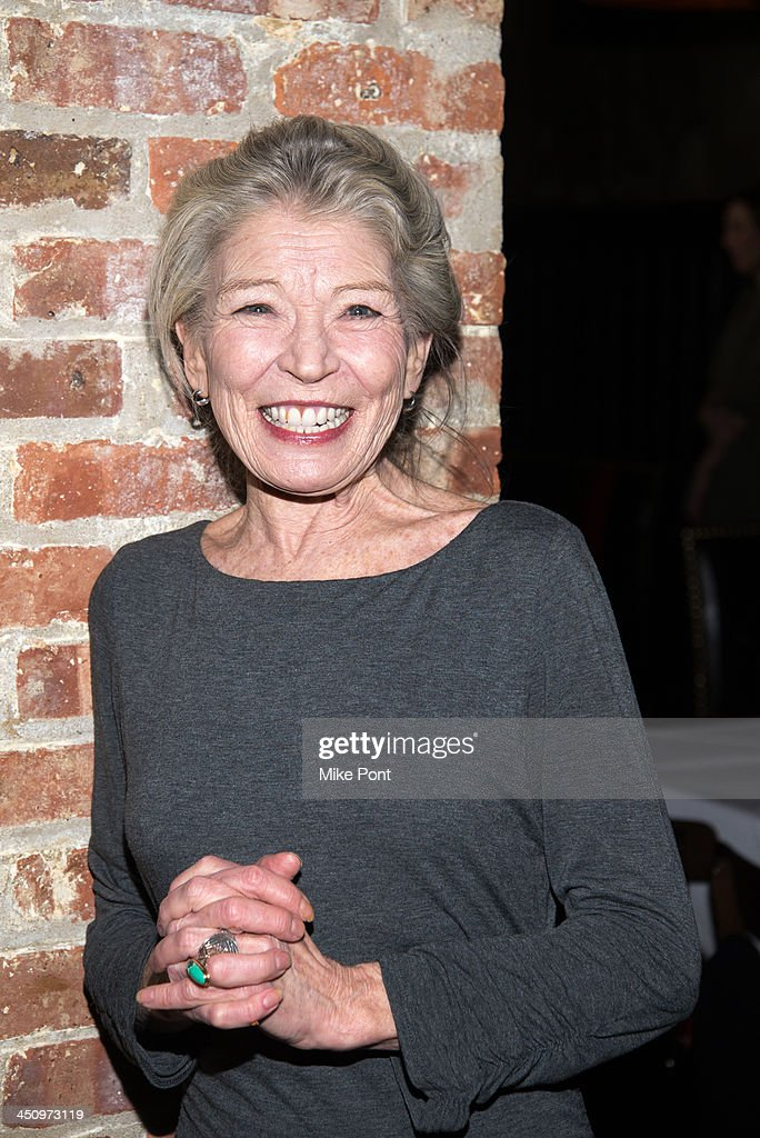 Actress Phyllis Somerville attends the 'Too Much, Too Many, Too Much, Too Many' Opening Night after party at HB Burger on November 20, 2013 in New York City.