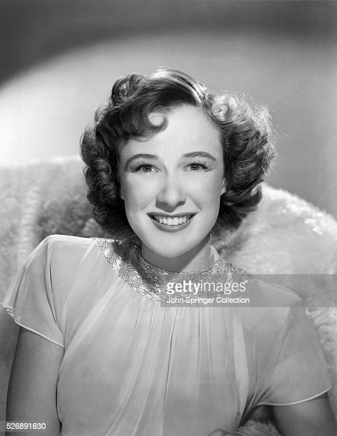 Actress Phyllis Thaxter stars as Joan Alris Ellis in the 1945 film Bewitched