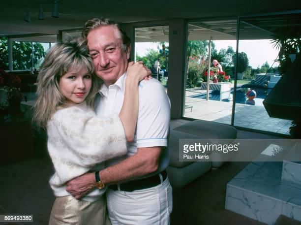 Actress Pia Zadora 27 and her husband multi millionaire Meshulum Riklis 58 in their Beverly Hills home Pia Zadora married businessman Meshulam Riklis...