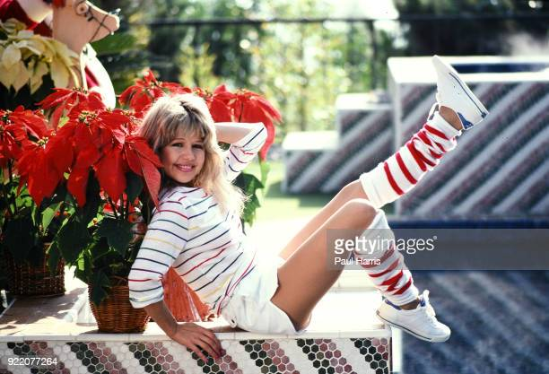 Actress Pia Zadora 27 married businessman Meshulam Riklis in 1977 when she was 23 and he 54 Pia photographed December 18 1981 at their Beverly Hills...