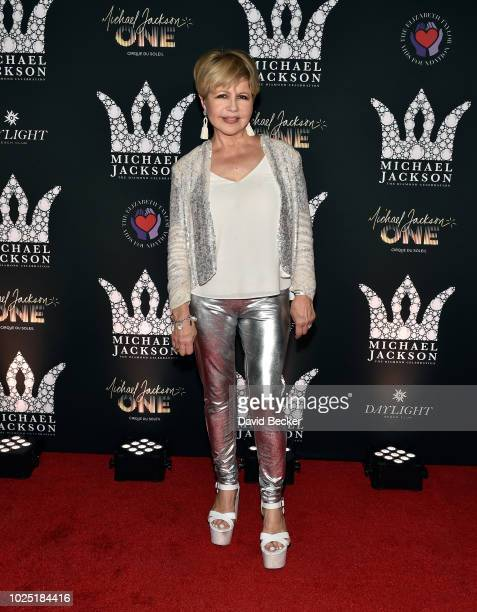 Actress Pia Zadora attends the Michael Jackson diamond birthday celebration at Daylight Beach Club at Mandalay Bay Resort and Casino on August 29...