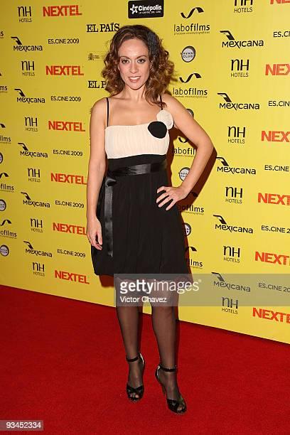 Actress Piedad Montero attends the Muestra de Cine Español EsCine 2nd Edition by Nextel at Cinepolis Diana on November 26 2009 in Mexico City Mexico