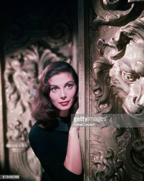 Actress Pier Angeli 1954