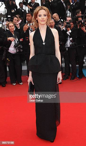 Actress Pilar Lopez De Ayala attends the 'You Will Meet A Tall Dark Stranger' Premiere at the Palais des Festivals during the 63rd Annual Cannes Film...