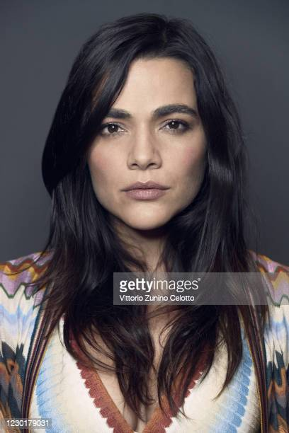 Actress Pina Turco poses for a portrait during 15th Rome Film Festival on October 19, 2020 in Rome, Italy.