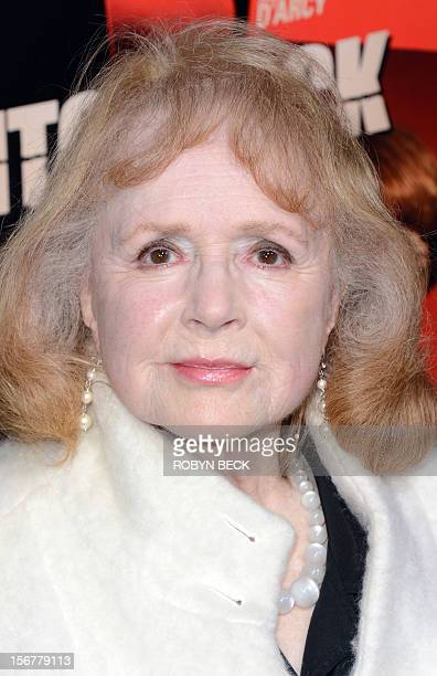 Actress Piper Laurie arrives at the Los Angeles premiere of 'Hitchcock' at the Academy of Motion Picture Arts and Sciences on November 20 2012 in...
