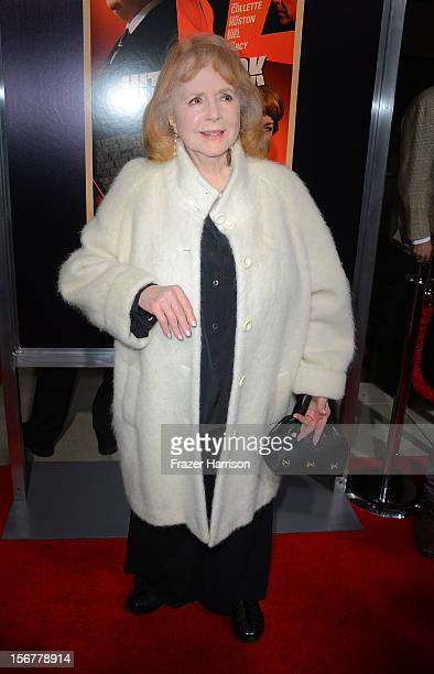 Actress Piper Laurie arrives at the premiere of Fox Searchlight Pictures' Hitchcock at the Academy of Motion Picture Arts and Sciences Samuel Goldwyn...