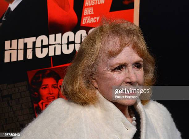 Actress Piper Laurie arrives at the Premiere Of Fox Searchlight Pictures' Hitchcock at AMPAS Samuel Goldwyn Theater on November 20 2012 in Beverly...