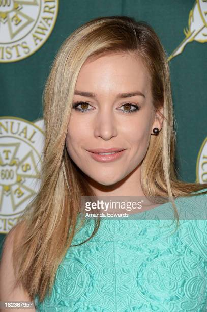 Actress Piper Perabo arrives at the ICG 50th Annual Publicists Awards at The Beverly Hilton Hotel on February 22 2013 in Beverly Hills California